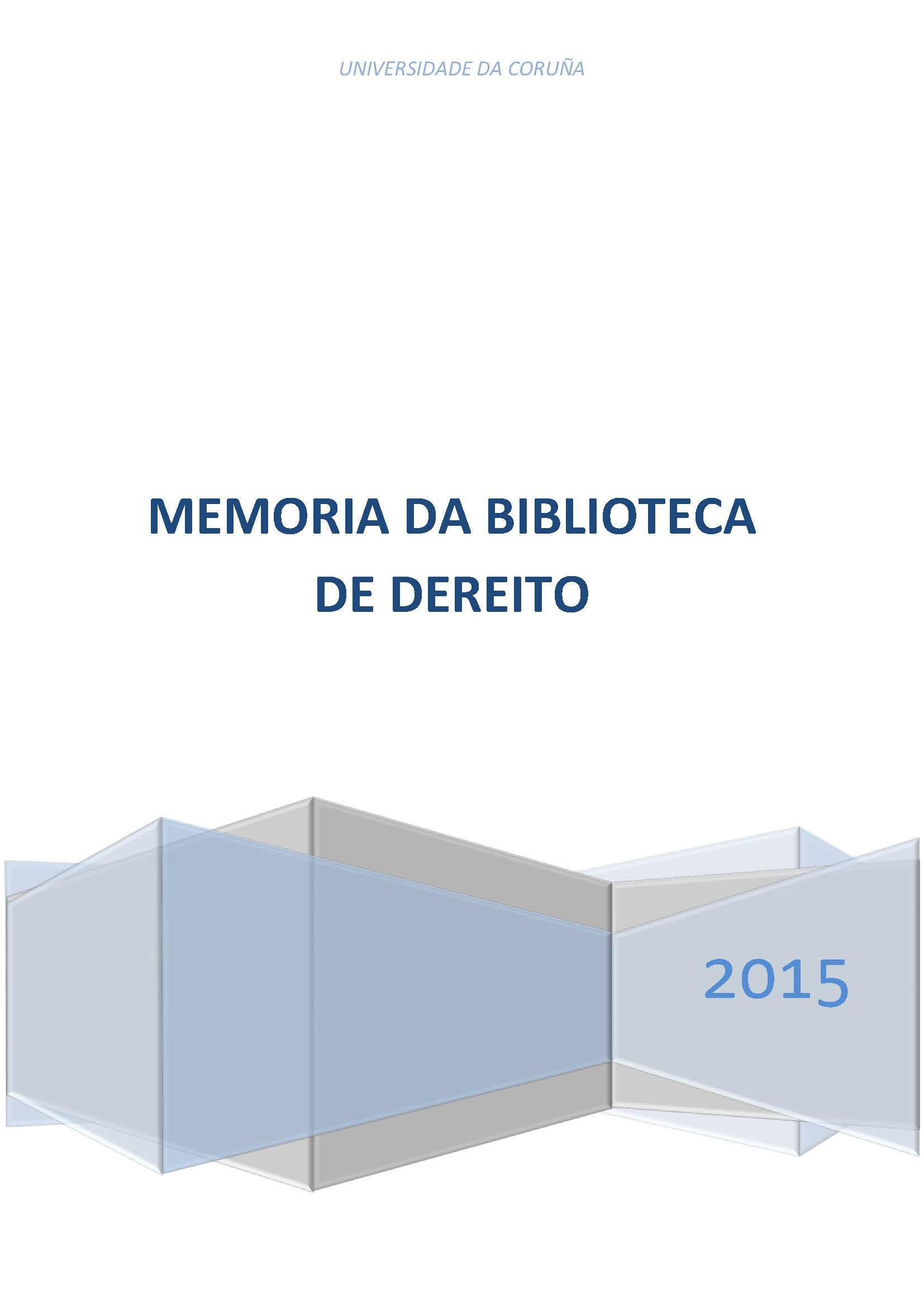 Memorias da Biblioteca de Dereito - photo#32