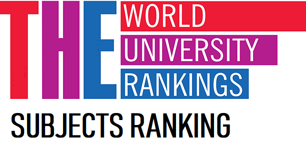 THE: Times Higher Education World University Ranking by Subject